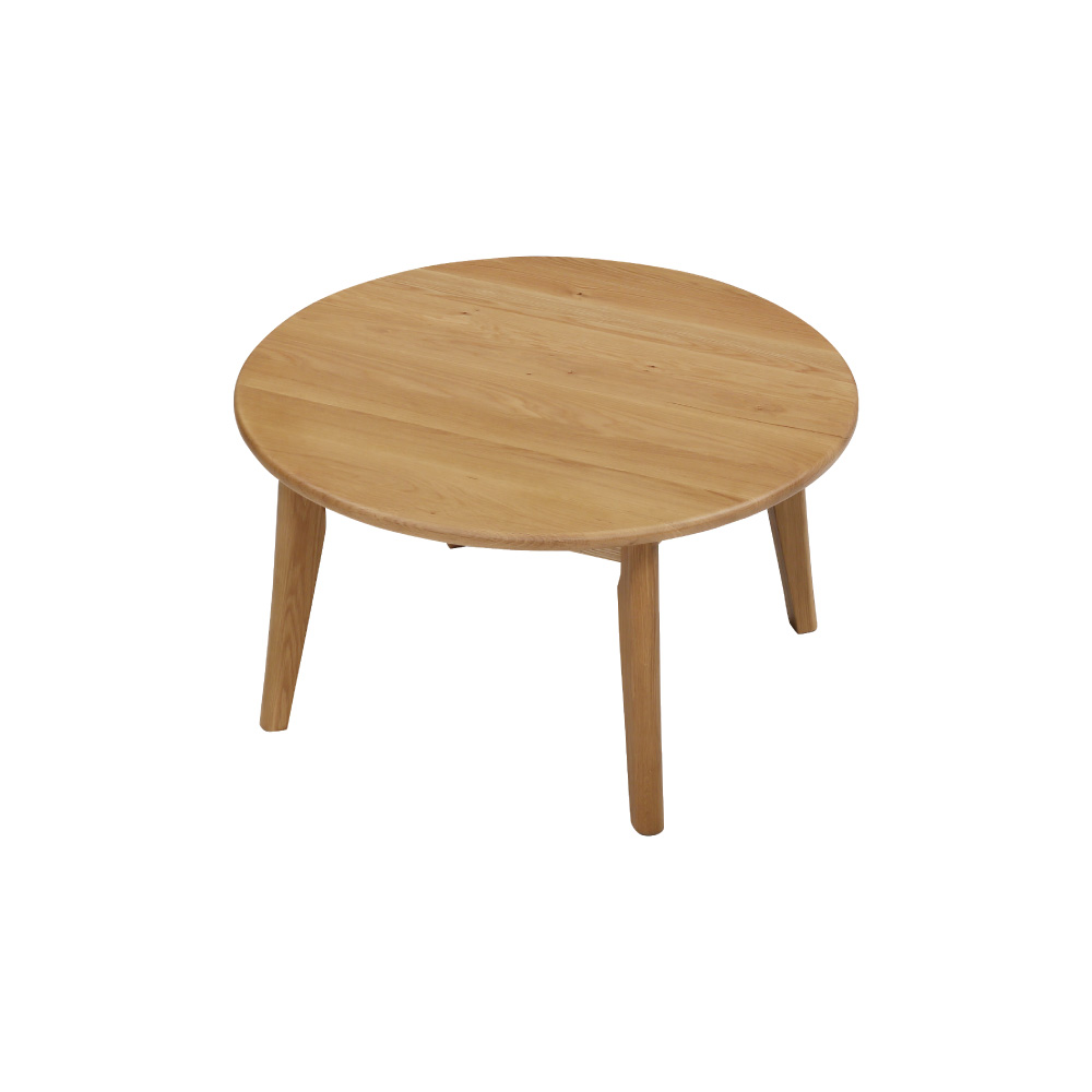 90丸リビングテーブル w17569