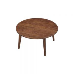 90丸リビングテーブル w17570
