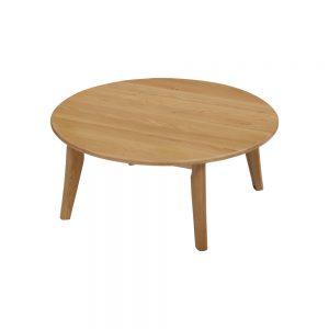 110丸リビングテーブル w17571