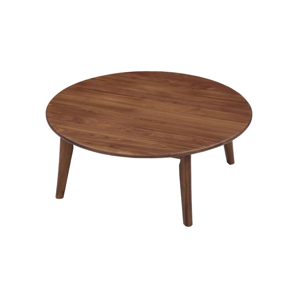 110丸リビングテーブル w17572