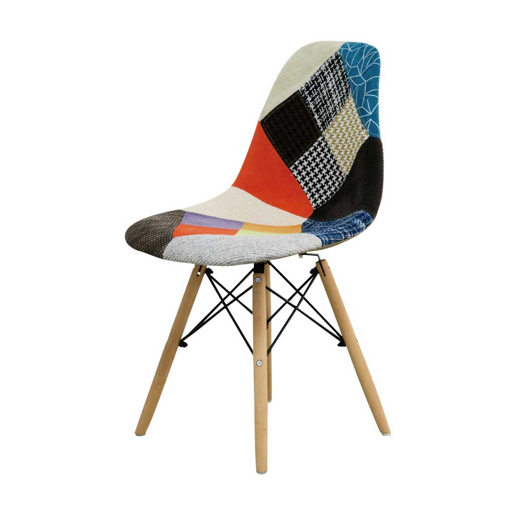 食堂椅子 パッチワーク w15979