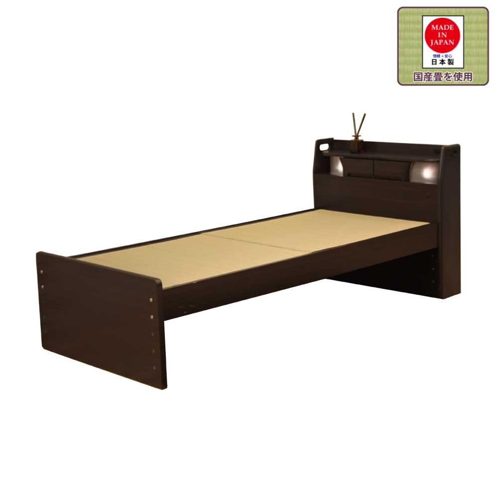 棚付S畳ベッド w06150
