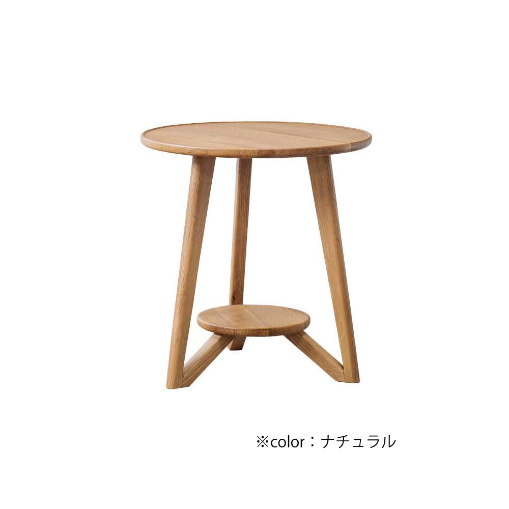 40円形サイドテーブル w16322