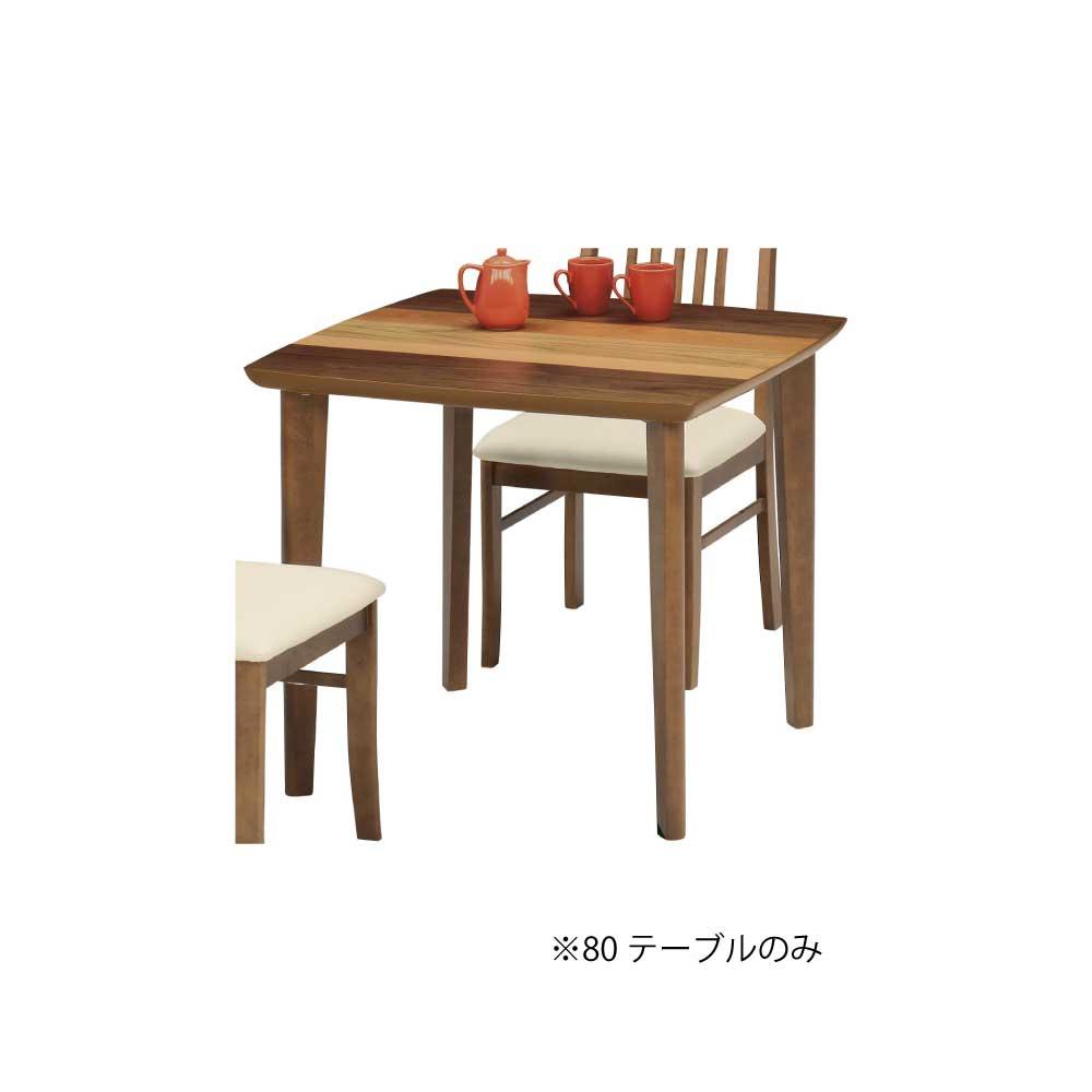 80食堂テーブル BR w16798