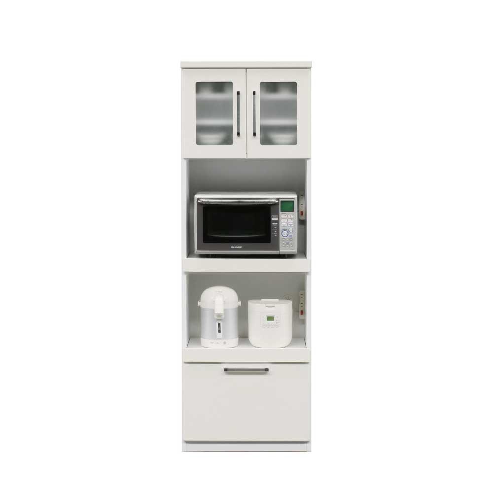 60OP食器棚 WH w16846