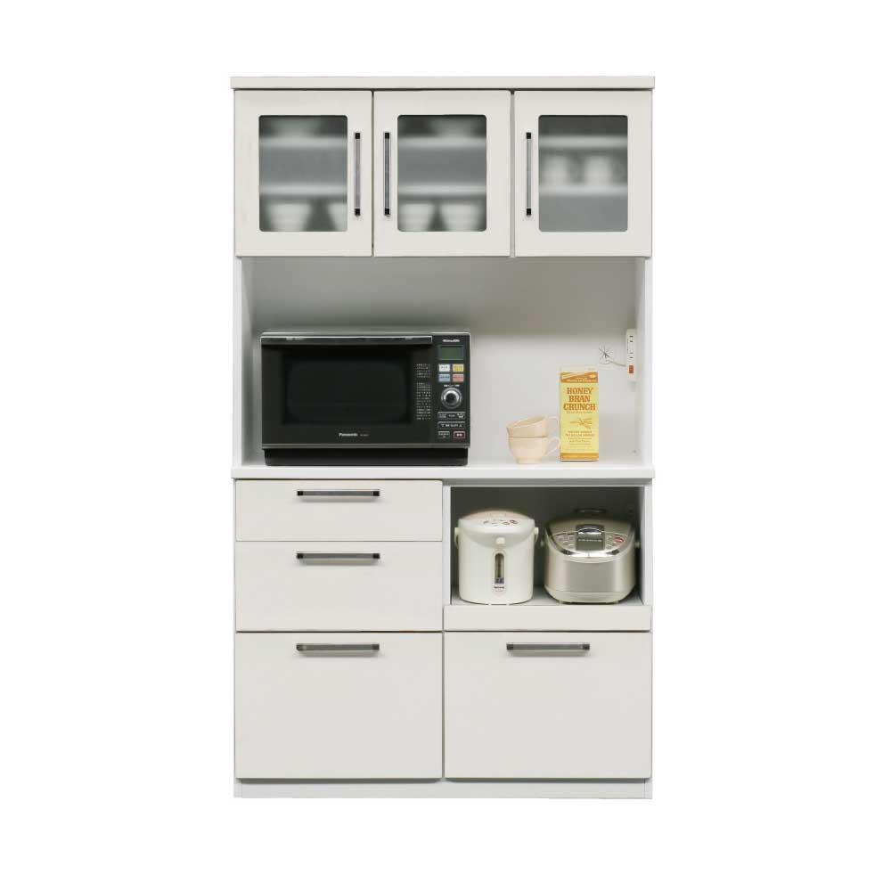 105OP食器棚 WH w16850