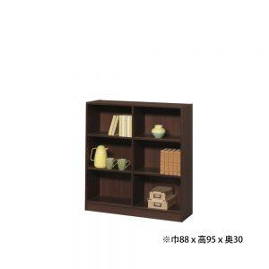 多目的書棚 w09156