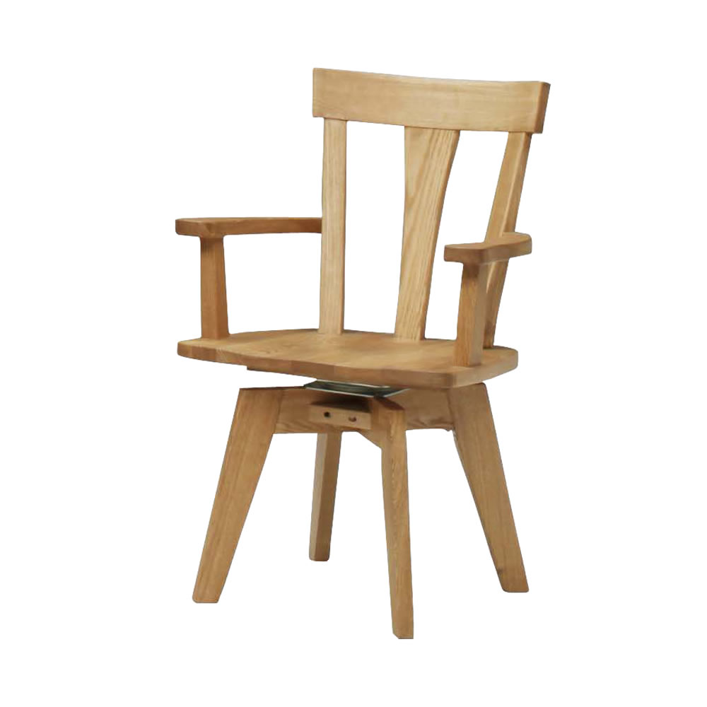 肘付き回転食堂椅子 NA w11025