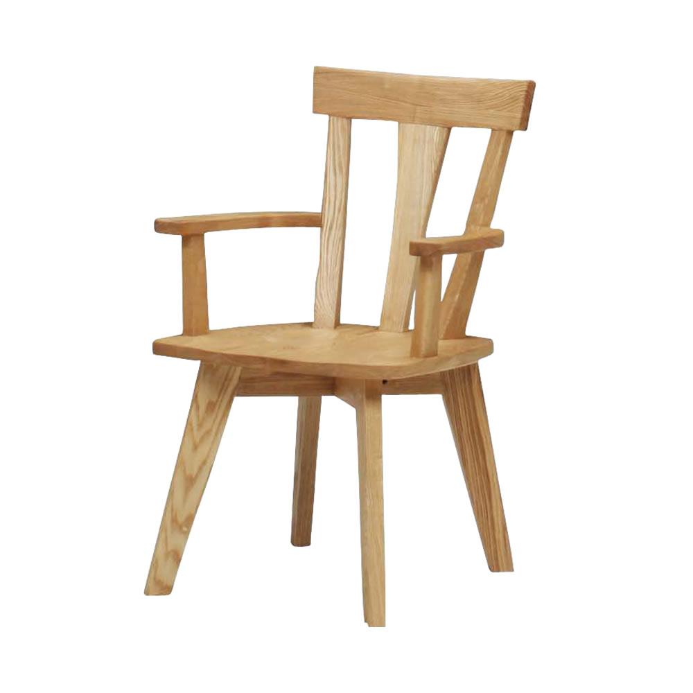 肘付き食堂椅子 NA w11029