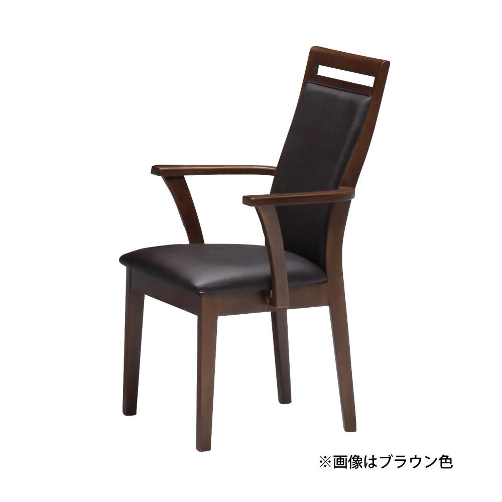 肘付き食堂椅子 w14889