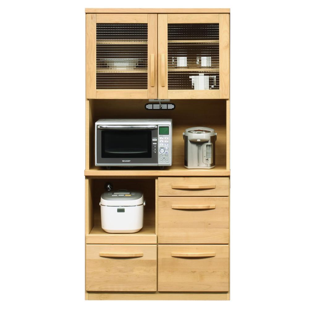 90OP食器棚 w13930