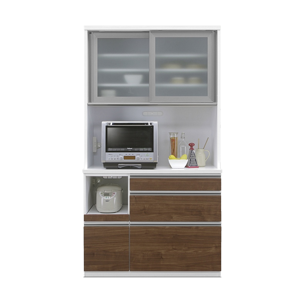 120OP食器棚 WN w00479