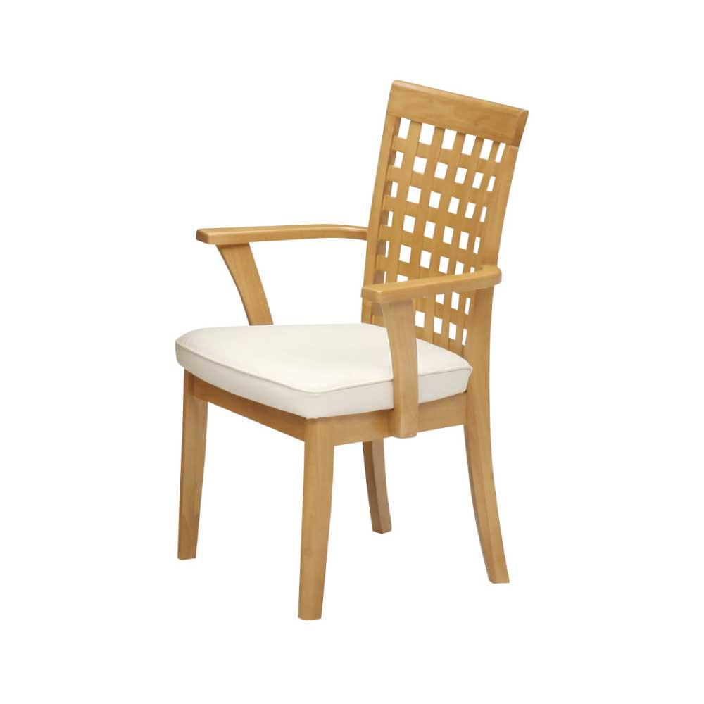 肘付固定食堂椅子 NA w14199