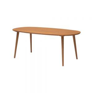 180楕円食堂テーブル w17357