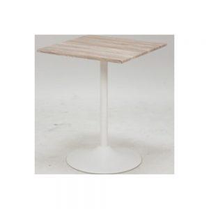 60角カフェテーブルWH w03454