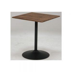60角カフェテーブルBR w03456