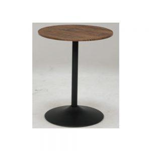 60丸カフェテーブルBR w03459