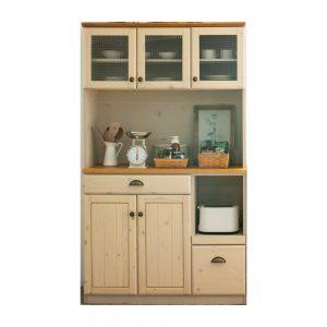 105OP食器棚 w00166