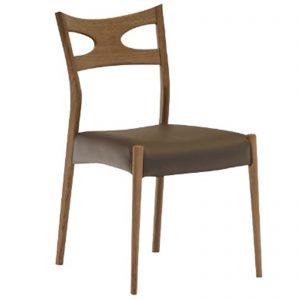 食堂椅子 BR 笠木 w14943