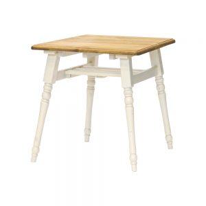 75食堂テーブル LBR/WHW w17941