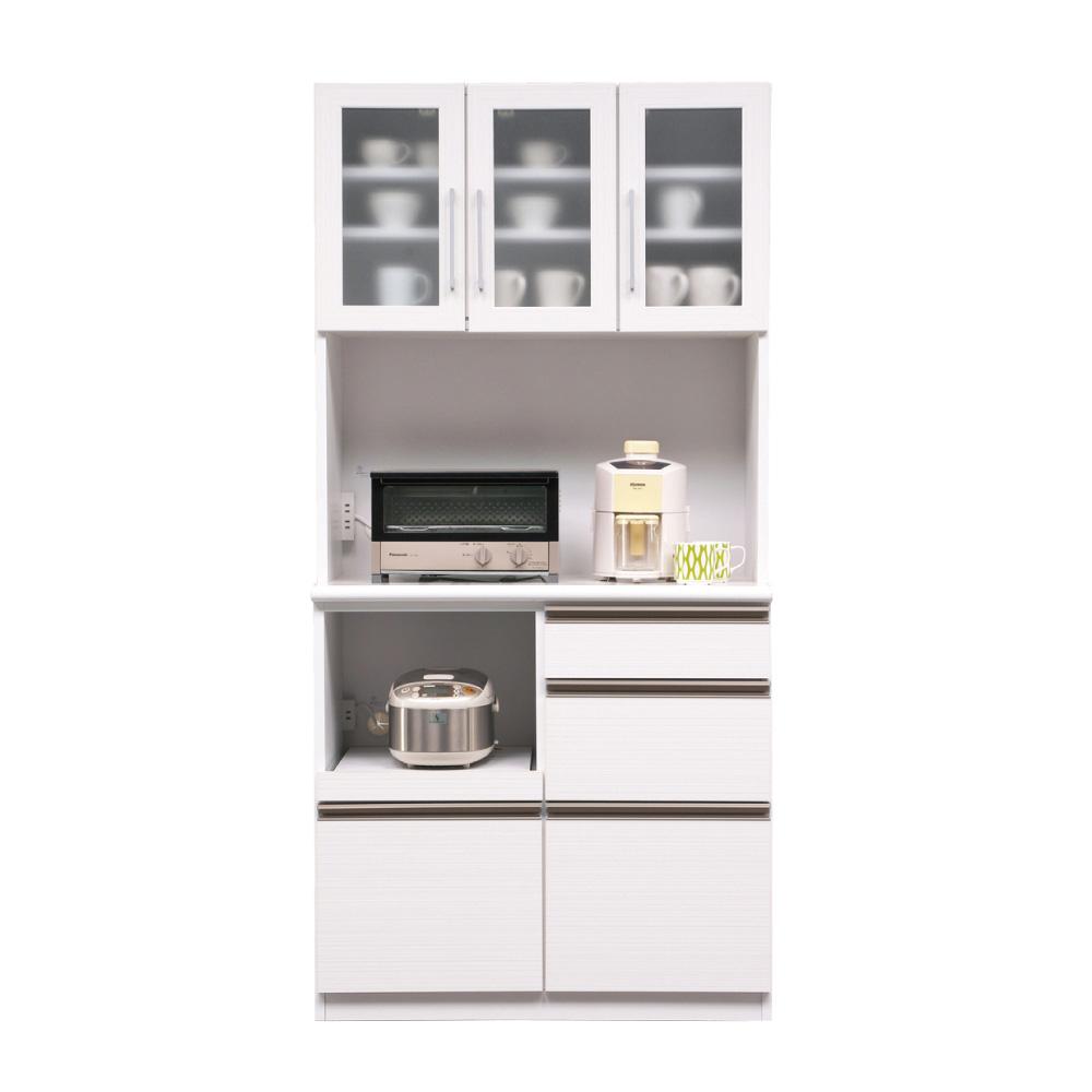 90オープン食器棚 w01292