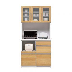 90オープン食器棚 w01295