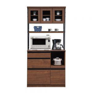 90オープン食器棚 w01298