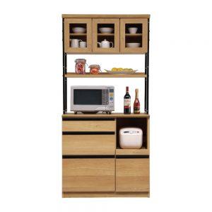 90オープン食器棚 w01300